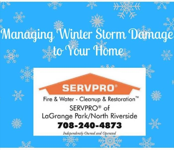 Storm Damage Managing Winter Storm Damage to Your Home